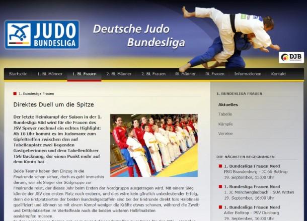 morgen: Heimkampf in der 1. Bundesliga Süd mit den Frauen des JSV Speyer