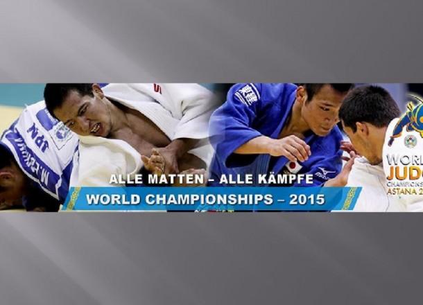 Judo-WM in Astana (Kasachstan)
