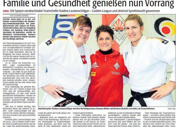 Frauen Bundesliga - unser Team JSV-Speyer